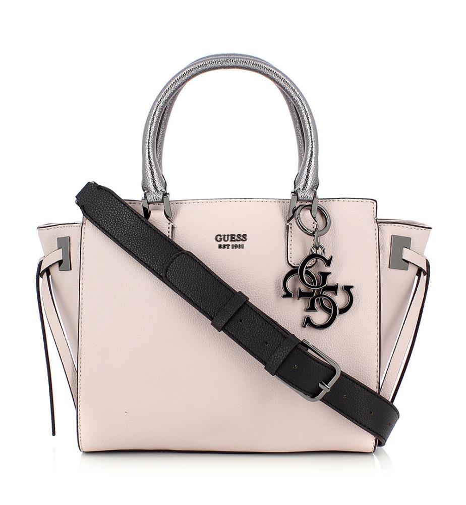 c6cead692191e Handtasche Digital - Hellrosa - Kollektionen Digital   Guess Status - Guess  Bags - Mode