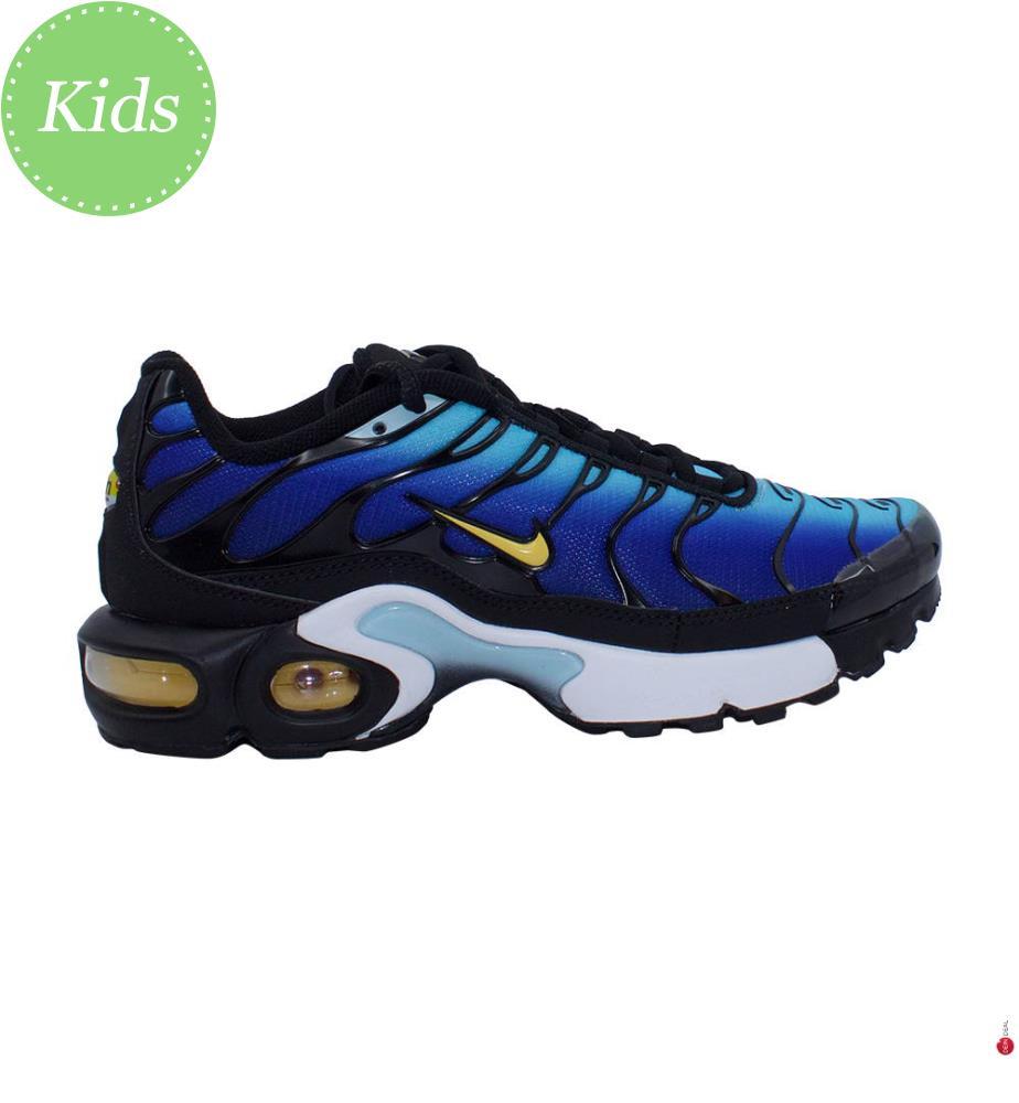 Sneakers Nike Air Max Plus - Blau und Schwarz - Kinder - Nike - Trends
