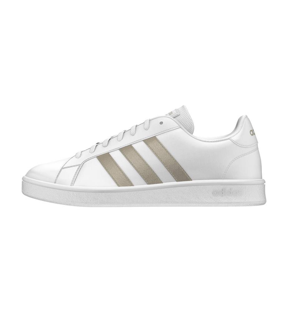 Details zu Adidas Damen Sneaker Grand Court Base weiß Neu