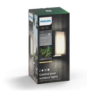 PHILIPS HUE - White Ambiance, Outdoor-Wandleuchte Turaco