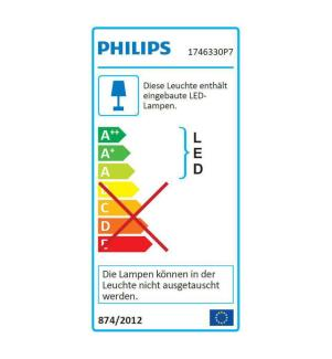PHILIPS HUE - White & Color Ambiance, Outdoor-Wandleuchte Appear