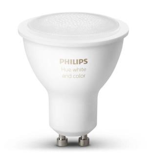 PHILIPS HUE - White & Color Ambiance, Glühbirne (Einzelstück) GU10