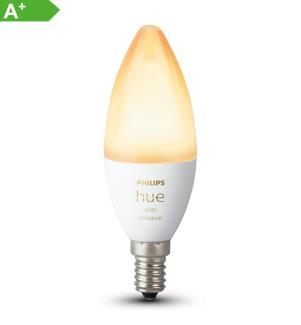 PHILIPS HUE - White Ambiance, Glühbirne (Einzelstück) E14