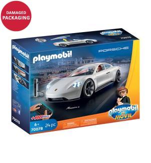 PLAYMOBIL 70078 THE MOVIE Rex Dasher's Porsche Mission E