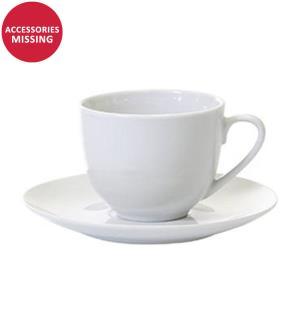 Tasse mit Untertasse, 200 ml