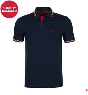 Poloshirt Paul Curved Slim Fit - Dunkelblau