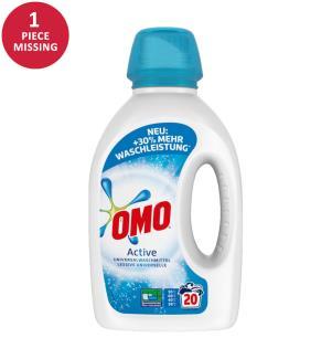 OMO Flüssig-Waschmittel Active - 5 x 1 L