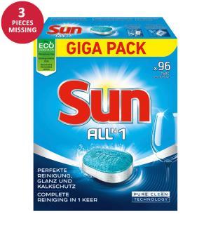 Geschirrspülmittel-Tabs SUN All-In-1 - 4 x 96 Tabs