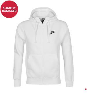 Hoodie Nike Club Fleece - Weiss
