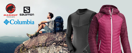 new styles 58ada 6afef Columbia, Mammut, Salomon - Mode